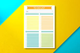 To Do List Page Graphic KDP Interiors By Nickkey Nick