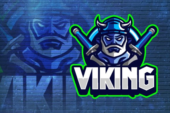 Viking E-Sport Logo Graphic Vector Graphic Logos By remarena