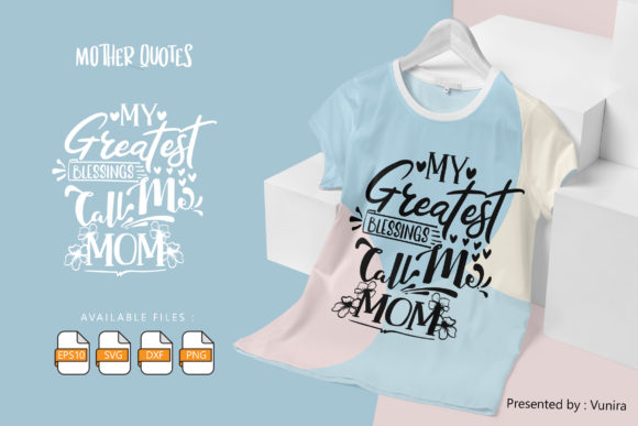 10 Mother Bundle | Lettering Quotes Graphic Graphic