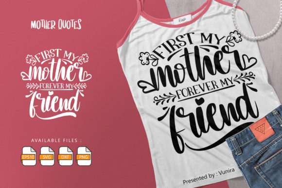 10 Mother Bundle | Lettering Quotes Graphic Preview