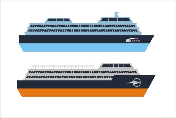 Print on Demand: Cruise Ship Collection Graphic Illustrations By edywiyonopp