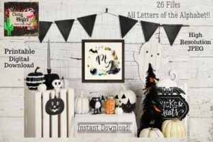 Print on Demand: Halloween Personalized Printable Graphic Crafts By Crazy Heifer Design Shoppe