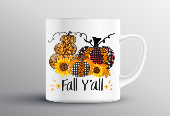 Halloween Sublimation Fall Y'all Graphic Item