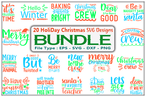Holiday Christmas Design Bundle Graphic By Creative Store Creative Fabrica