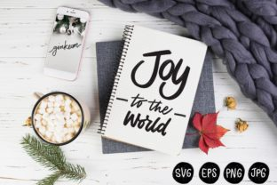 Print on Demand: Joy to the World Graphic Print Templates By Ginkean