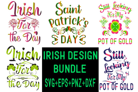 St. Patrick's Day Design Bundle Graphic Crafts By creative store.net