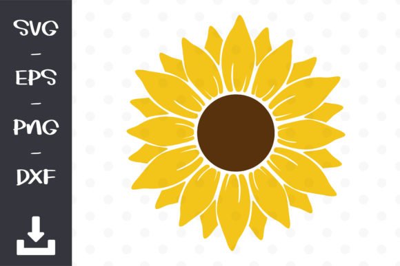 Sunflower Bundle Graphic Objects By wanchana365