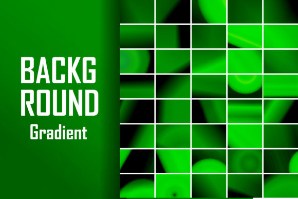 Green Background Gradient Graphic Backgrounds By lastroll studio