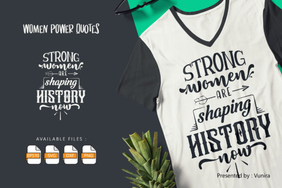 10 Woman Bundle | Lettering Quotes Graphic Preview