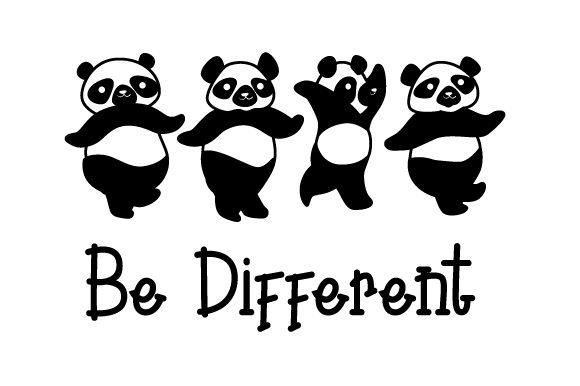 Be Different Cut File Download