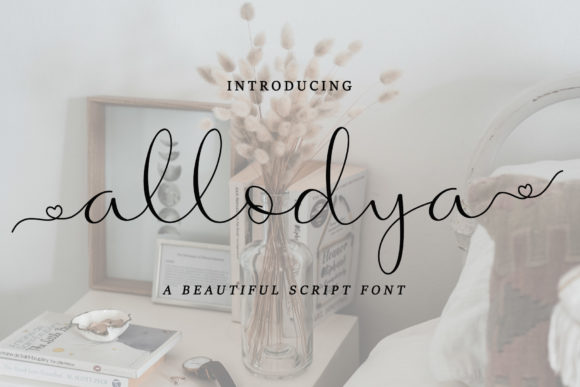 Print on Demand: Allodya Script & Handwritten Font By tinyhandletter