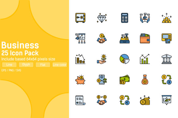 Business and Finance Icon Pack Graphic Icons By aficons.studio