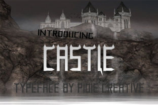 Print on Demand: Castle Display Font By Pidie_Creative
