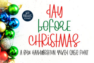 Print on Demand: Day Before Christmas Script & Handwritten Font By BitongType