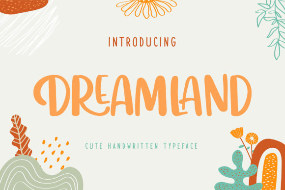 Print on Demand: Dreamland Script & Handwritten Font By Vunira
