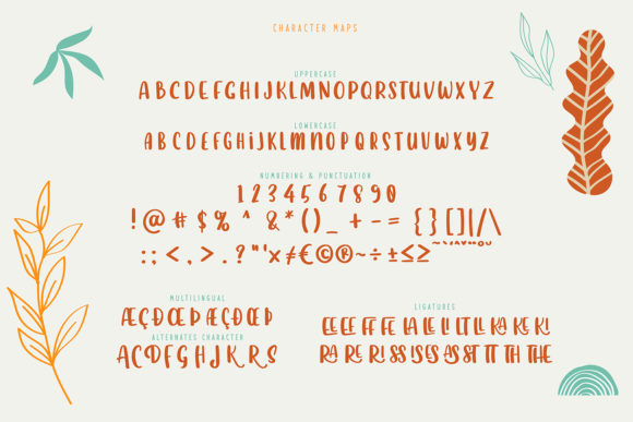 Dreamland Font Preview