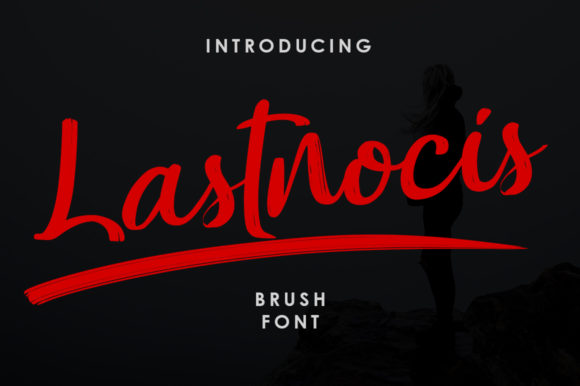 Print on Demand: Lastnocis Script & Handwritten Font By Green Adventure Studio