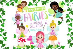 Print on Demand: Magical Fairies Graphic Illustrations By DigitalPapers