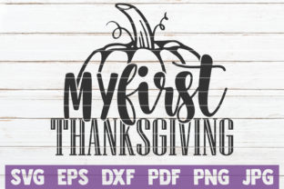 My First Thanksgiving Graphic Crafts By MintyMarshmallows