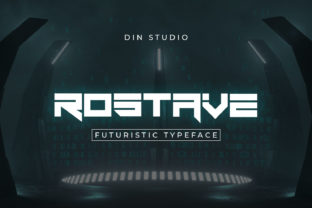 Print on Demand: Rostave Display Font By Din Studio