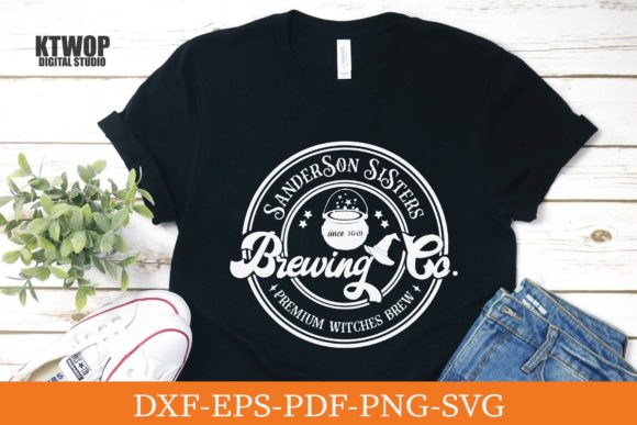 Print on Demand: Sanderson Sisters Brewing Co. Graphic Crafts By KtwoP