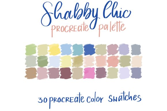 Shabby Chic Palettes Colors Graphic Add-ons By Poycl Jazz