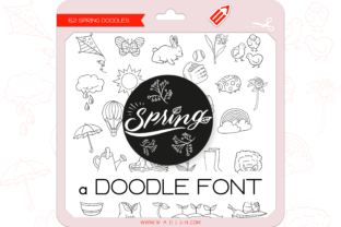 Print on Demand: Spring Dingbats Font By WADLEN