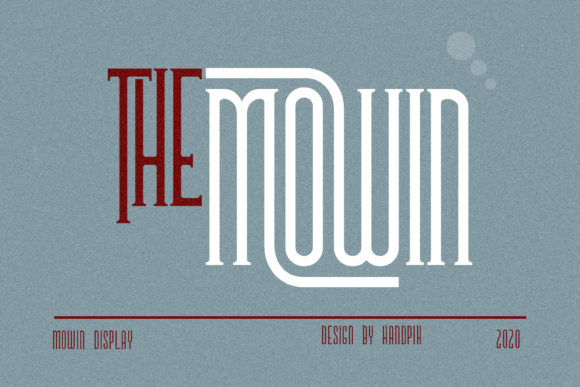 Print on Demand: The Mowin Serif Font By handpik