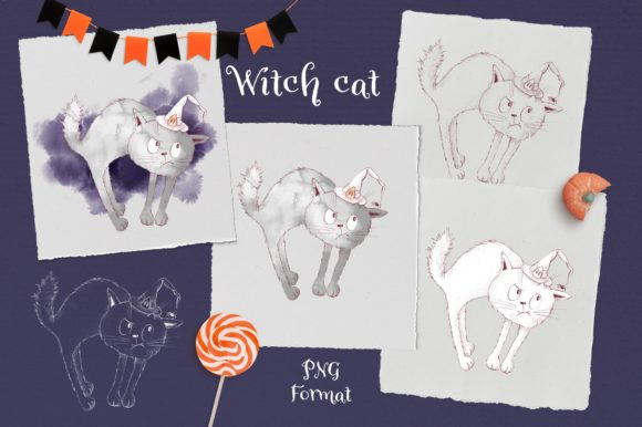 Print on Demand: Trick or Treat? Graphic Illustrations By nicjulia - Image 10
