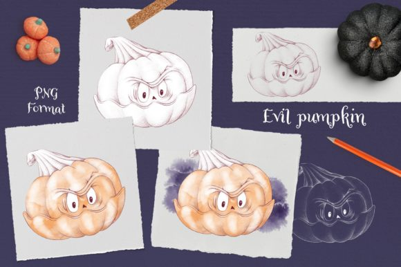 Print on Demand: Trick or Treat? Graphic Illustrations By nicjulia - Image 11
