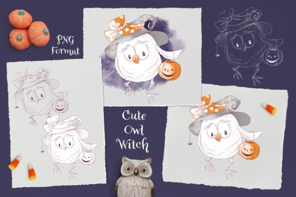Print on Demand: Trick or Treat? Graphic Illustrations By nicjulia - Image 13