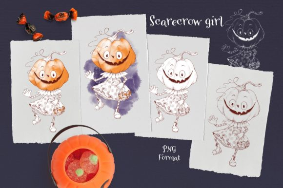 Print on Demand: Trick or Treat? Graphic Illustrations By nicjulia - Image 2