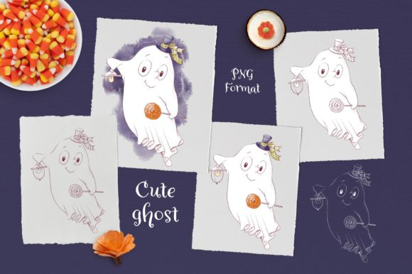 Print on Demand: Trick or Treat? Graphic Illustrations By nicjulia - Image 5