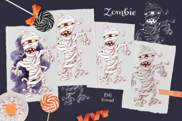Print on Demand: Trick or Treat? Graphic Illustrations By nicjulia - Image 6