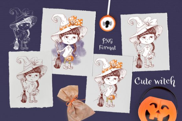 Print on Demand: Trick or Treat? Graphic Illustrations By nicjulia - Image 7