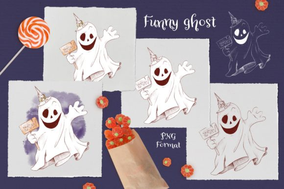 Print on Demand: Trick or Treat? Graphic Illustrations By nicjulia - Image 8