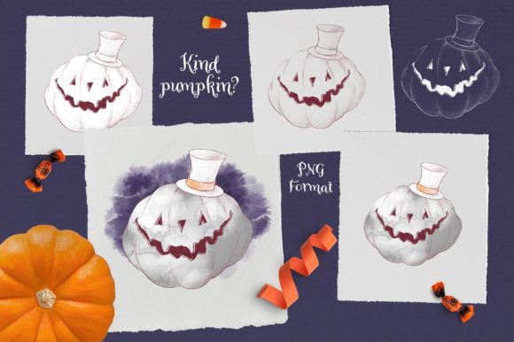 Print on Demand: Trick or Treat? Graphic Illustrations By nicjulia - Image 9