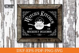 Print on Demand: Witch's Kitchen Wickedly Delicious Graphic Crafts By KtwoP