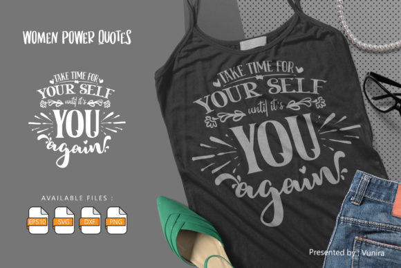 Print on Demand: Woman | Lettering Quotes Graphic Crafts By Vunira