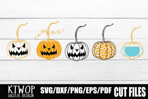 Get Spooky Halloween Vol2 Svg Dxf Png Cutting Files (30 Designs) Design