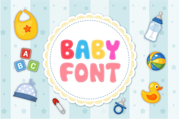 Print on Demand: Baby Display Font By OWPictures