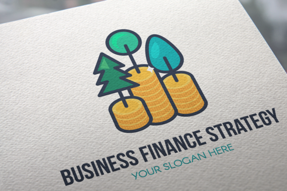Print on Demand: Business Finance Strategy Logo Graphic Logos By barsrsind