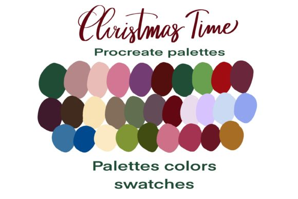 Christmas Time Palettes Graphic Add-ons By Poycl Jazz