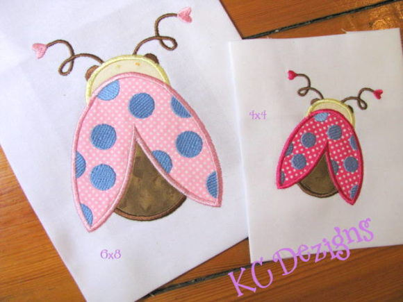 Cute Ladybug 02 Boys & Girls Embroidery Design By karen50
