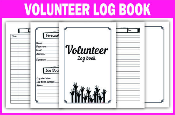 Print on Demand: KDP Ready Interior Volunteer Journal Graphic KDP Interiors By Fayne