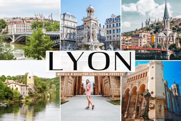 Print on Demand: Lyon Pro Lightroom Presets Graphic Actions & Presets By Creative Tacos