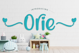 Print on Demand: Orie Display Font By Jasm (7NTypes) 1