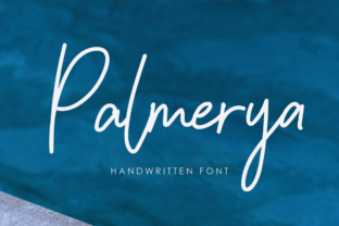 Print on Demand: Palmeyra Script & Handwritten Font By agamous