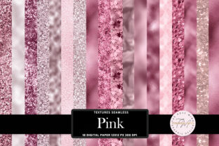 Print on Demand: Pink Texture Seamless Graphic Backgrounds By The Rose Mind