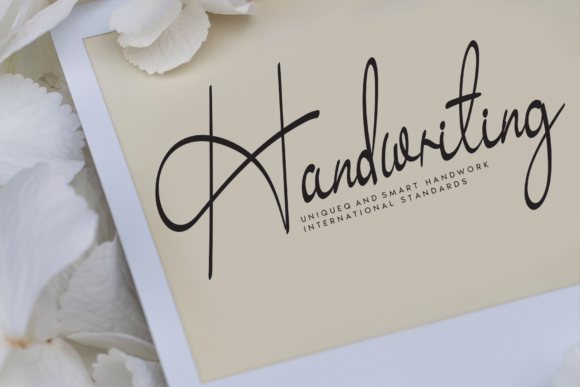 Unique cursive fonts for elegant crafting projects